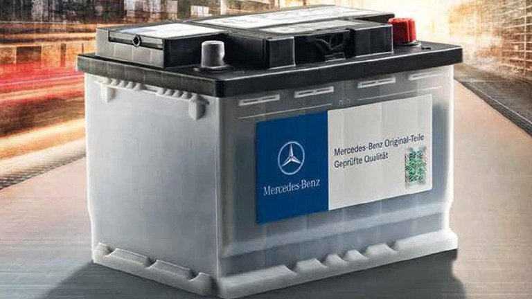 Acquista le batterie originali Mercedes Benz